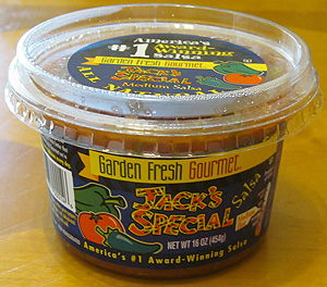 Jack's Special salsa from Garden Fresh