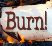 Burn! word