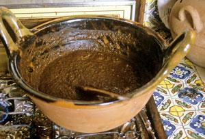 mole-sauce-on-stove