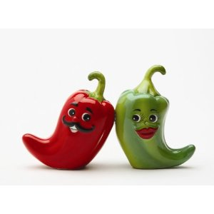 Chile Salt and Pepper Set
