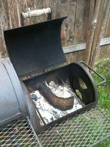 Bad Boy's offset firebox
