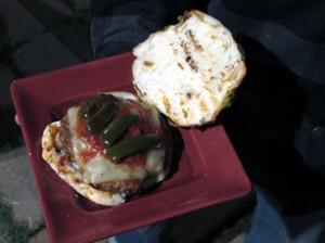 chorizo burgers
