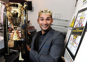 Restaurant manager Abdul Ali said he was surprised by the intense reaction of contestants. Photo by EN News, courtesy of Metro.