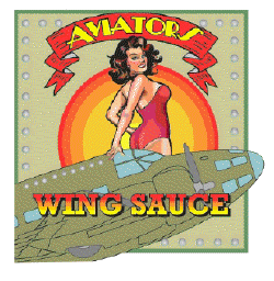 aviators wing sauce