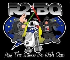 """""""These aren't the ribs your looking for."""" This New York-based team apparently multi-tasks as sci fi geeks. Mashing up a droid and a bullet smoker was a great touch."""