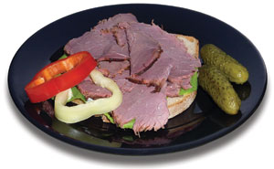 You can make your own homemade pastrami! Here's an easy how-to.