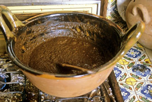 earliest mole sauce recipe