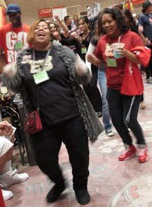 Folks were dancing in the aisles at this year's show!