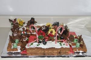 I'll never bake again, Santa.