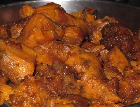 molasses sweet potatoes