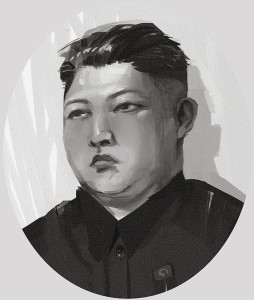 Portrait of Darth Asshat aka Kim Jong-un (from Wikipedia.org)