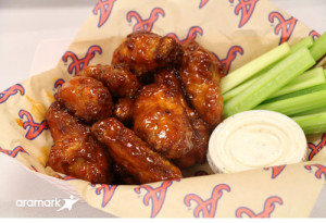Turner Field- Mango Habanero wings