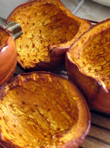 smoked pumpkin