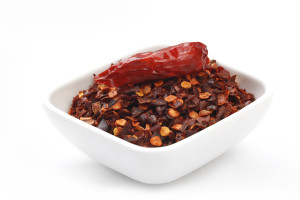 Crushed red chile pepper
