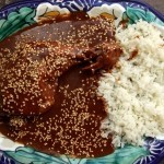 Turkey mole poblano