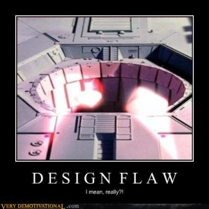 death star exhaust port