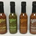 cajohn classic small batch hot sauces