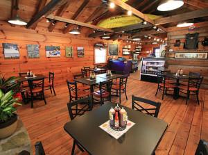 Joe's BBQ in Blue Ridge, Georgia, topped the list