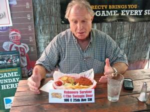 Habanero burger survivor