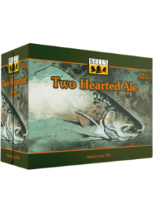 ABV. Bell's Two Hearted Ale is an India Pale Ale style well suited for Hemingway-esque trips to the Upper Peninsula. American malts and enormous hop additions give this beer a crisp finish and incredible floral hop aroma.