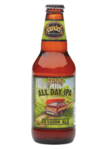 Michigan- American India Pale Ale (IPA)- Pours a light amber with a fluffy white head. Aromas of bitter, floral hops and sweet citrus fruits with underlying malt tones. Tastes of citrus and piney hops with a balanced malt presence. This is a very seasonable IPA at a low 4.7% ABV.