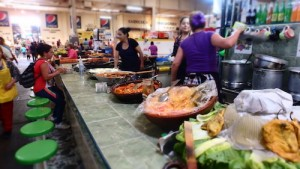 Scene at the Mercado