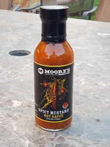 moores spicy mustard sauce review