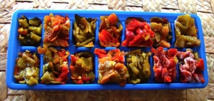 how to freeze chile peppers