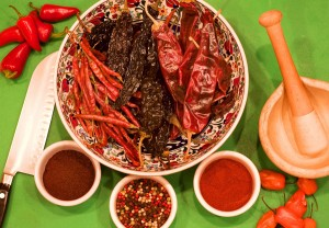 how to make chile powder