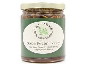cj farms spicy pecan honey