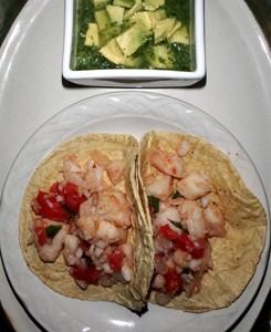 Tacos de Pescado con Salsa Verde