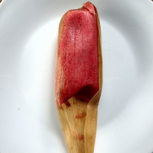 Dessert tamal