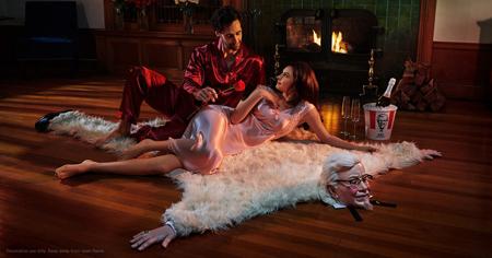 kfc bearskin rug