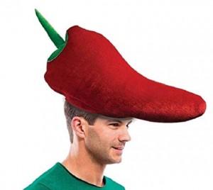 chile pepper hat