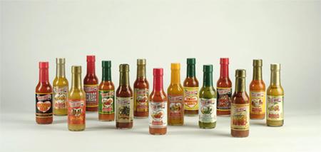 sharps hot sauce lineup