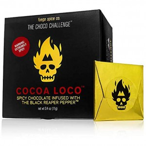 spicy chocolate challenge