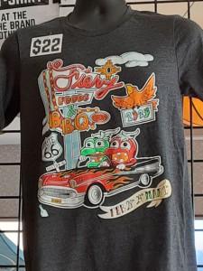 2020 fiery foods show shirt