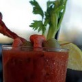 blood mary with jalapeno wine