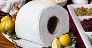 cooking with toilet paper