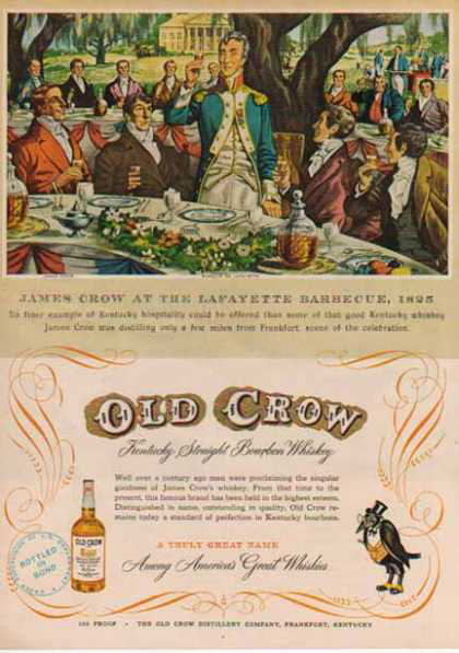 old crow barbecue ad