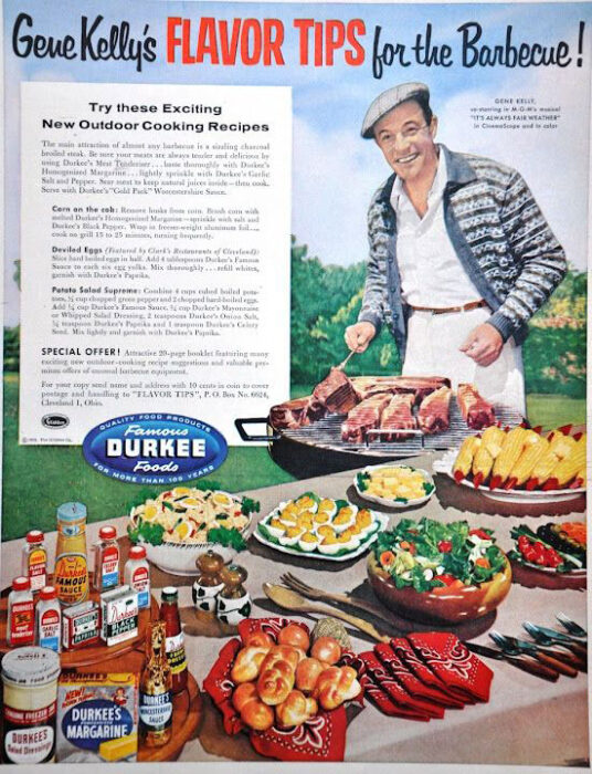old bbq ad