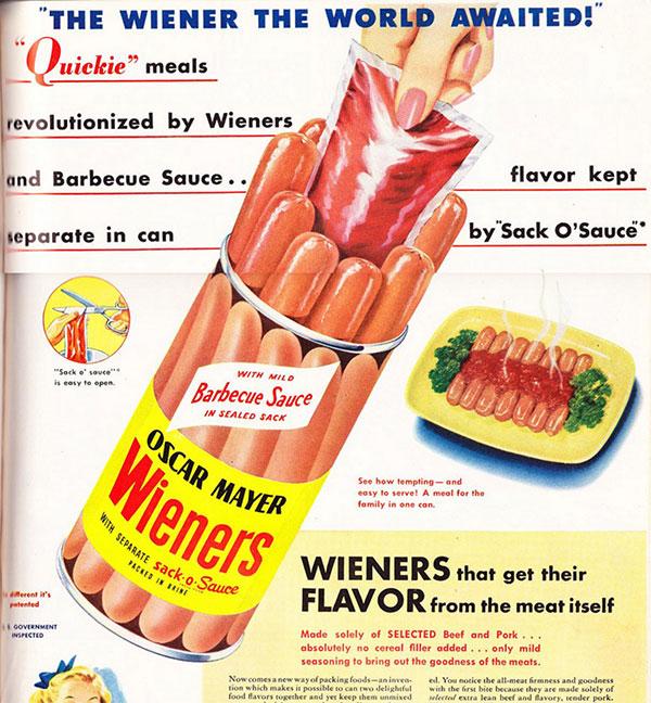 oscar meyer barbecue ad