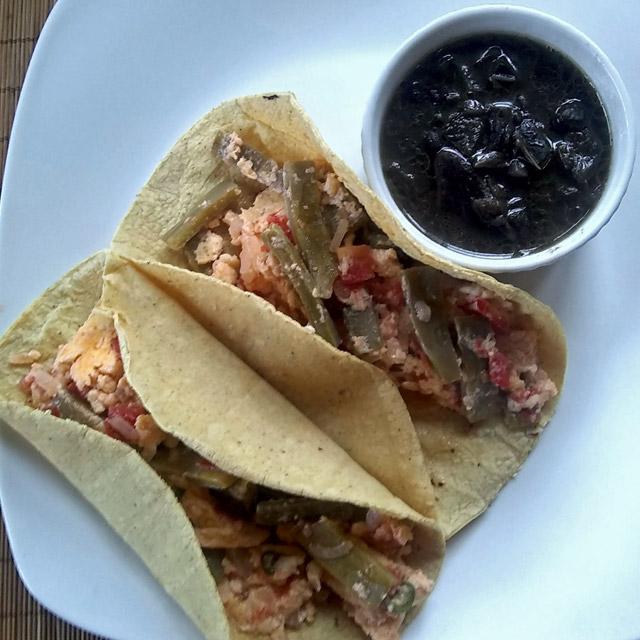 nopales breakfast tacos