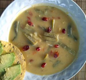 eat cactus nopales soup