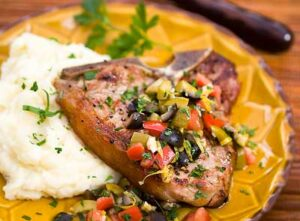 grilled veal