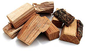 cherry wood chunks for barbecue
