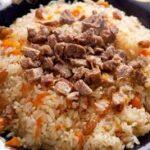 Kabuli Pulao (Lamb and Rice)