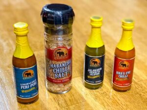 african dream hot sauces
