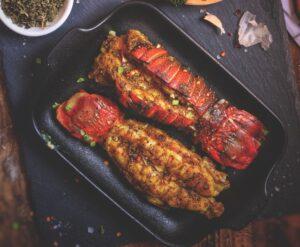 grilled caribbean crayfish