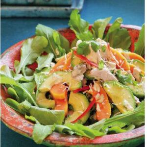 spicy chicken salad byron bay chilli co